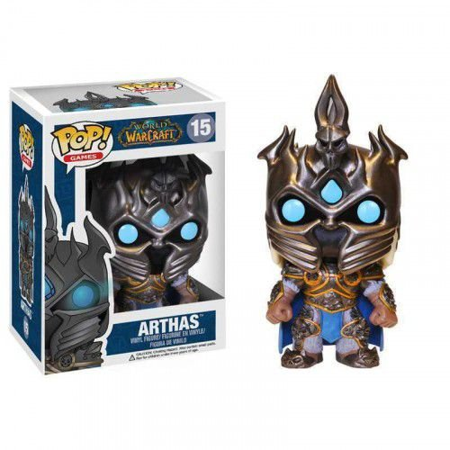 POP! Jogos: World of Warcraft – Arthas - Funko