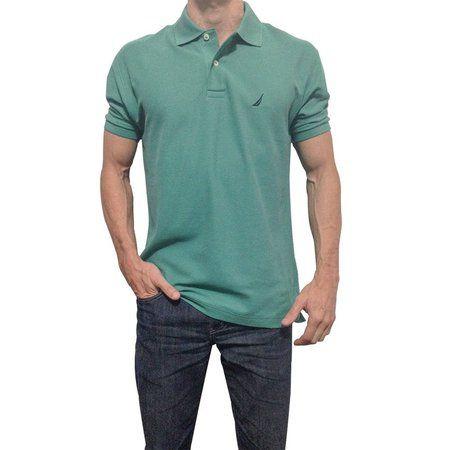 Camisa Polo Nautica Verde Escuro - Loja do Alemão 94eae9e08a4d7