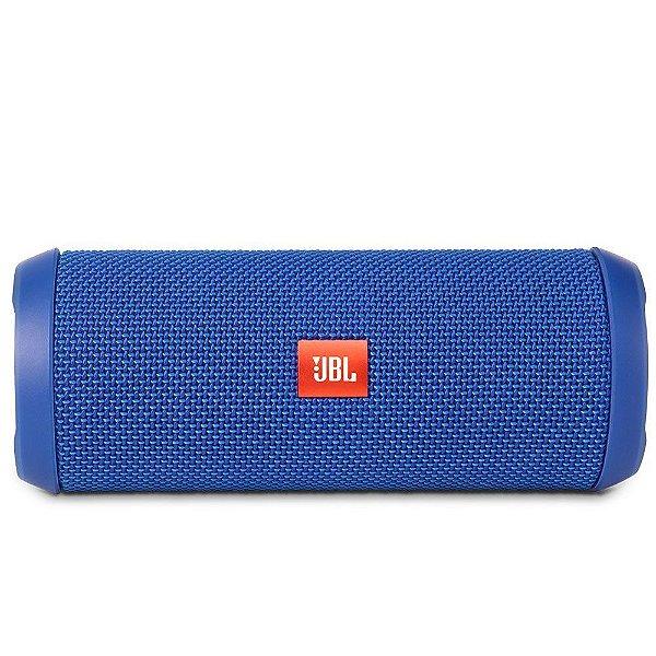 Caixa de Som Portátil Bluetooth Stereo Speaker JBL Flip 3 Azul À Prova d'agua