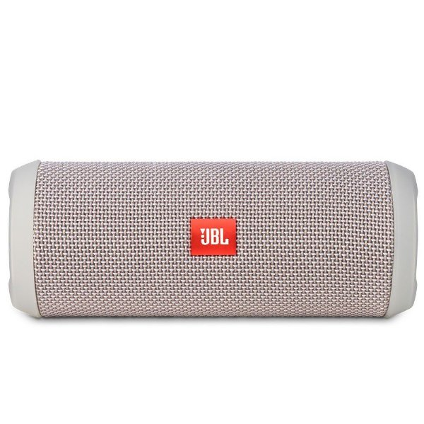 Caixa de Som Portátil Bluetooth Stereo Speaker JBL Flip 3 Cinza À Prova d'agua