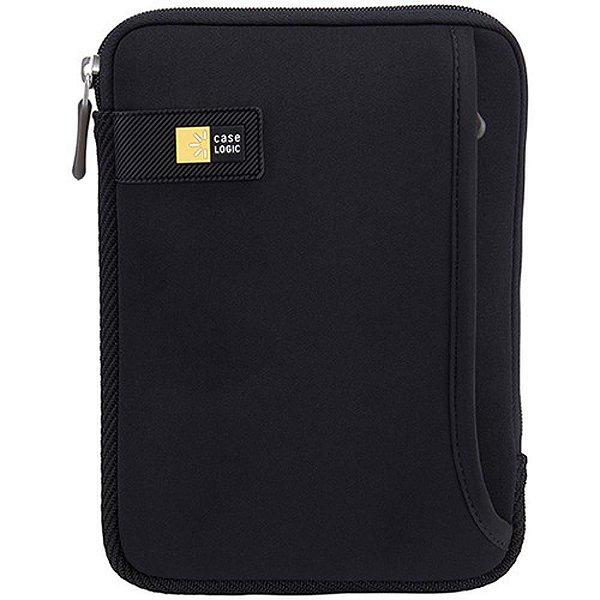 """Sleeve para iPad Mini/Tablet 7"""" c/ Bolso Case Logic  TNEO108 Preto (3201728)"""