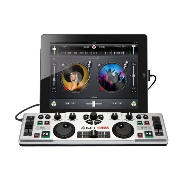 Mesa DISCOVER DJ portátil para iPad, iPhone ou iPod touch - IK24 - Ion