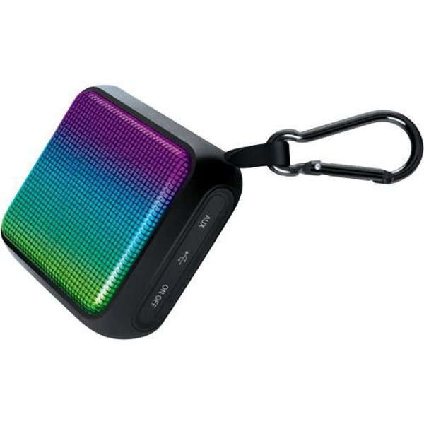 Mini caixa de som portátil sem fio com mosquetão - ISOUND-6707 - iSound