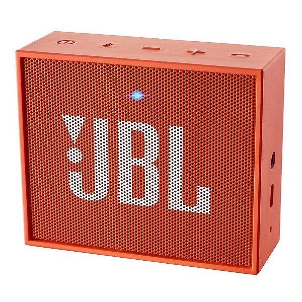 Caixa de Som Bluetooth GO Laranja - JBL