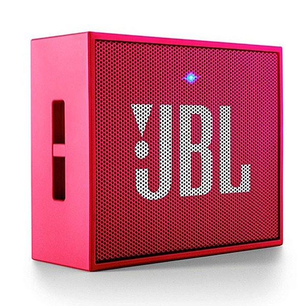 Caixa de Som Bluetooth Go Rosa - JBL