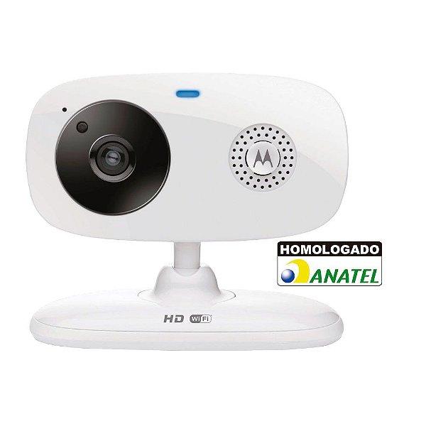 Câmera de vídeo Wi-Fi Motorola FOCUS66 c/ visão noturna via smartphone - Motorola