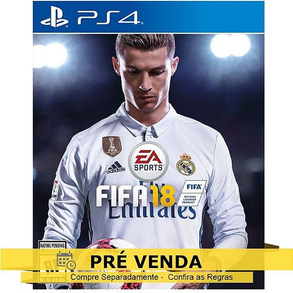 Jogo FIFA 18 para PS4