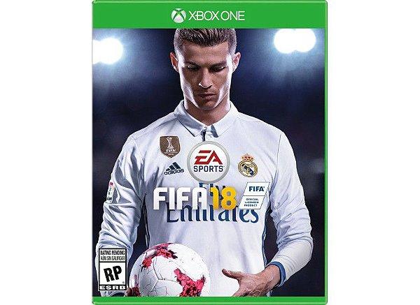 Jogo FIFA 18 para Xbox One