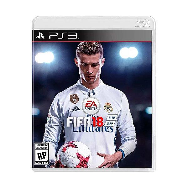 Jogo FIFA 18 para PS3