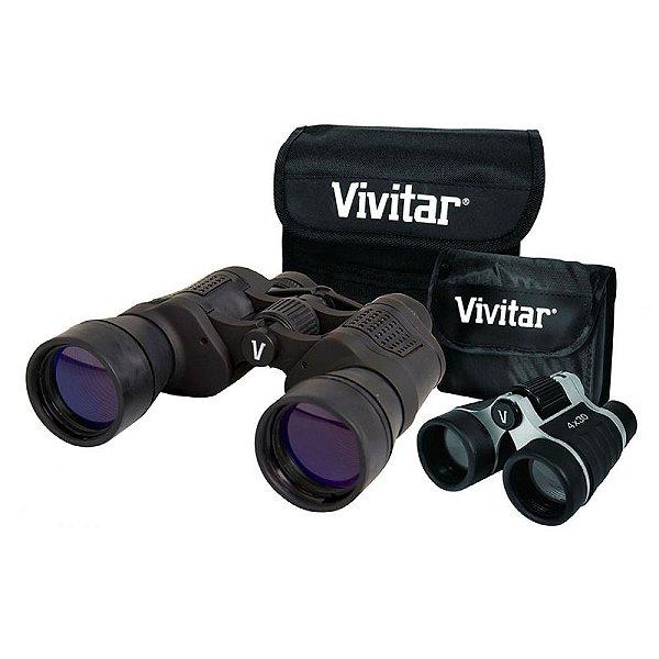 Par de binóculos: um com 8x50 e outro com 4x30 VIV-VS-843 - Vivitar