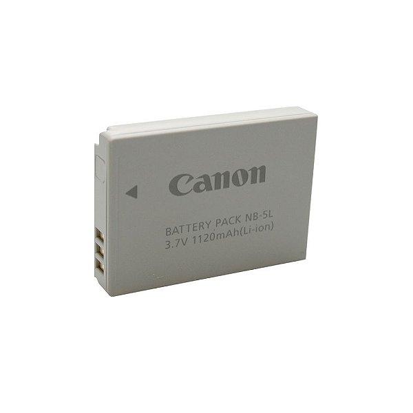 Bateria recarregável para câmeras Canon PowerShot Série S, SD e SX - NB5L - Canon