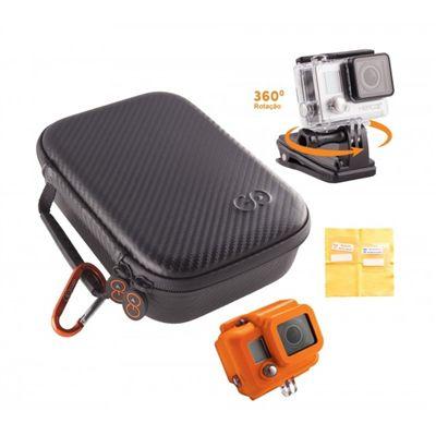 Estojo compacto para câmera GoPro + suporte + acessórios - H4-PAK - Gocase