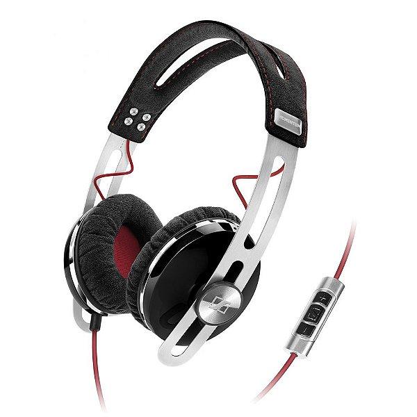 Fone de ouvido tipo headphone com microfone MOMENTUM preta - MMTUMOE - Sennheiser