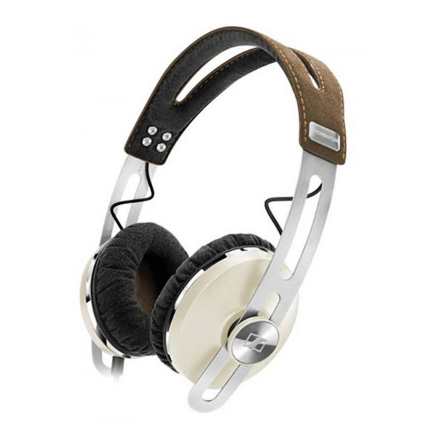 Fone de ouvido tipo headphone com microfone MOMENTUM bege - MMTUMOE - Sennheiser