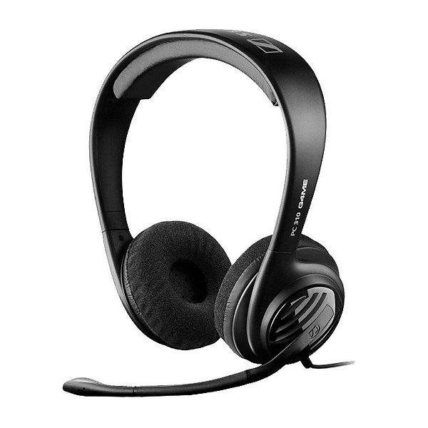 Fone de ouvido tipo headphone com microfone para PC, Mac, PS4 e Xbox One - PC310 - Sennheiser