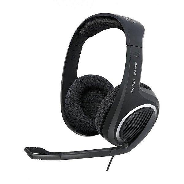 Headset estéreo com microfone para PC - PC320 - Sennheiser