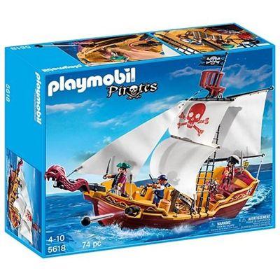 Playmobil Navio Pirata - Sunny Brinquedos
