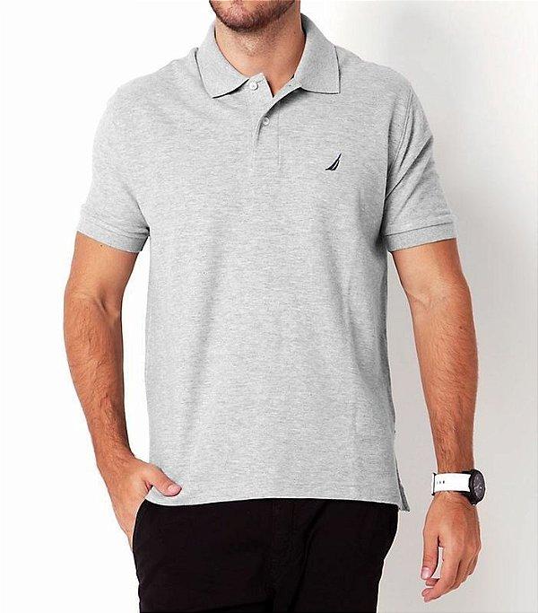 Camisa Polo Nautica Cinza