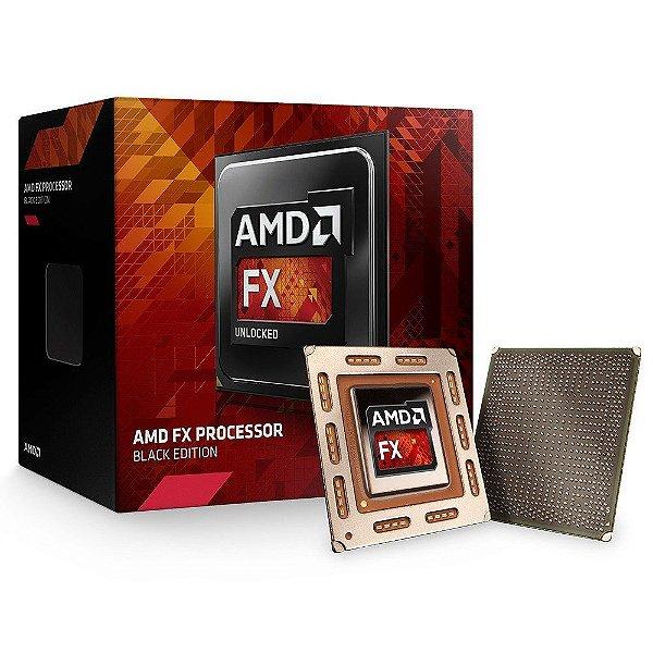 Processador AMD FX-6300, Black Edition, Cache 14MB, 3.5GHz (4.1GHz Max Turbo), AM3+ FD6300WMHKBOX