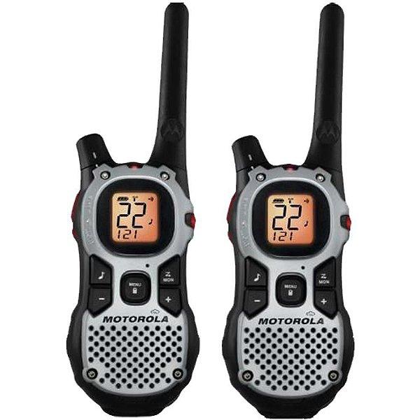 Radio Comunicador Walk Talk MJ270 MR Talkabout Duplo com Alcance de 25 KM - Motorola
