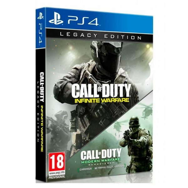 Jogo Call of Duty: Infinite Warfare (Legacy Edition) - PS4