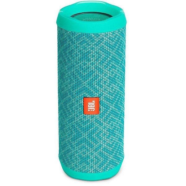 Caixa de Som Portátil Bluetooth Stereo Speaker JBL Flip 4 Mosaic À Prova d'agua
