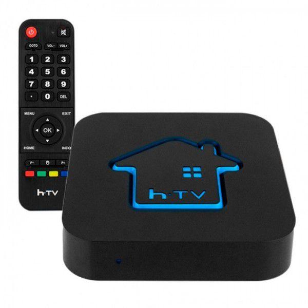Receptor Smart TV H-TV Box 5 IPTV Box 4K com bluetooth Wi-fi Android Netflix