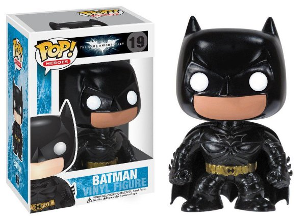 POP! Heróis: Dark Knight Movie Batman - Funko