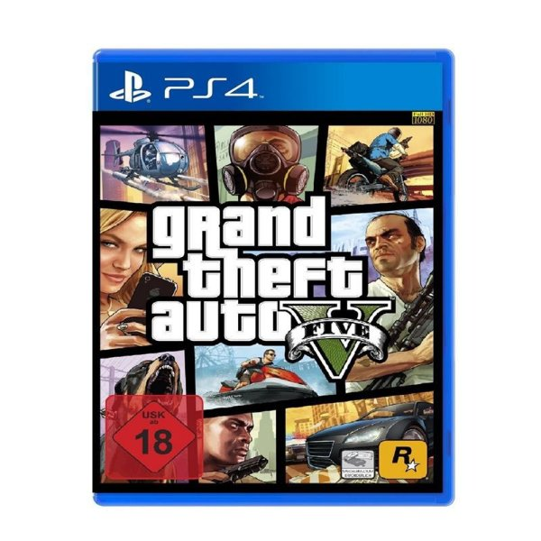 Jogo GTA V - Grand Theft Auto V PS4