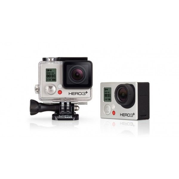 Câmera GoPro Hero3+ Silver Edition, 10MP Wi-Fi Full HD 1080p, CHDHN-302 - GoPro