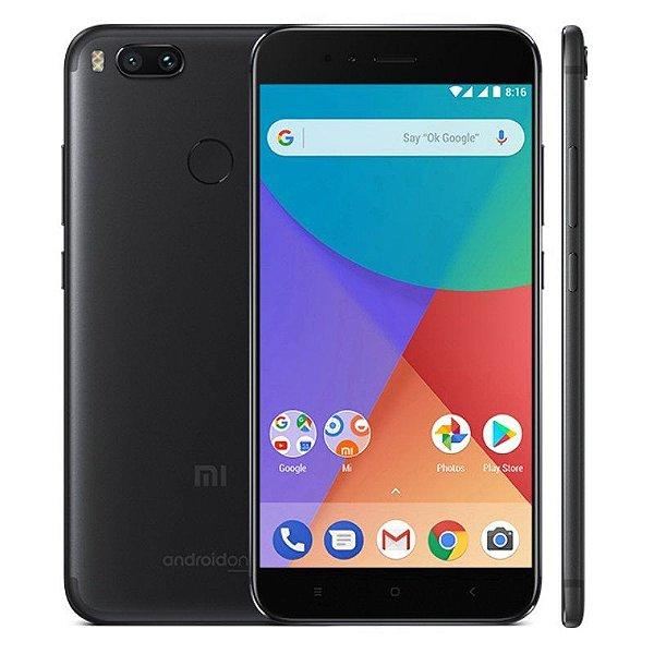 """Smartphone Xiaomi Redmi Mi A1 4GB/64GB LTE Dual Sim Tela 5.5""""Câm.12/12MP+5MP-Preto"""