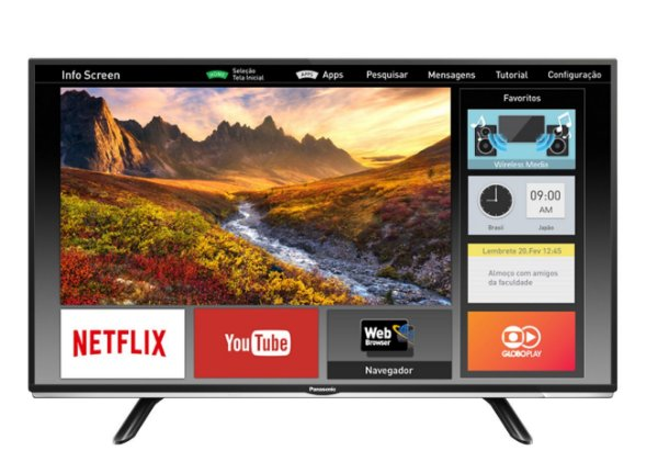 """Panasonic SMART TV LED 40""""  FULL HD TC-40DS600B"""