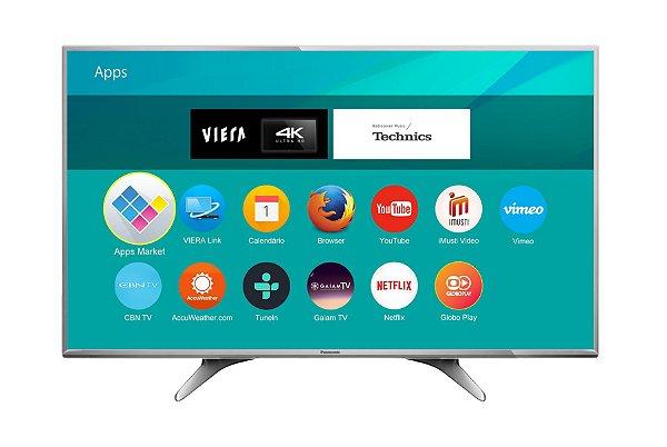 """Panasonic SMART TV LED 49"""" 4K ULTRA HD TC-49DX650B"""
