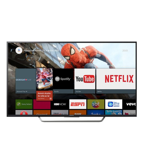Sony Smart Android TV 4K HDR de LED Ultra HD KD-65X7505D série X7505D