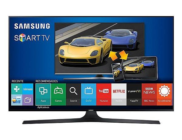 """Samsung Full HD Flat Smart TV 75"""" J6300 Series 6"""