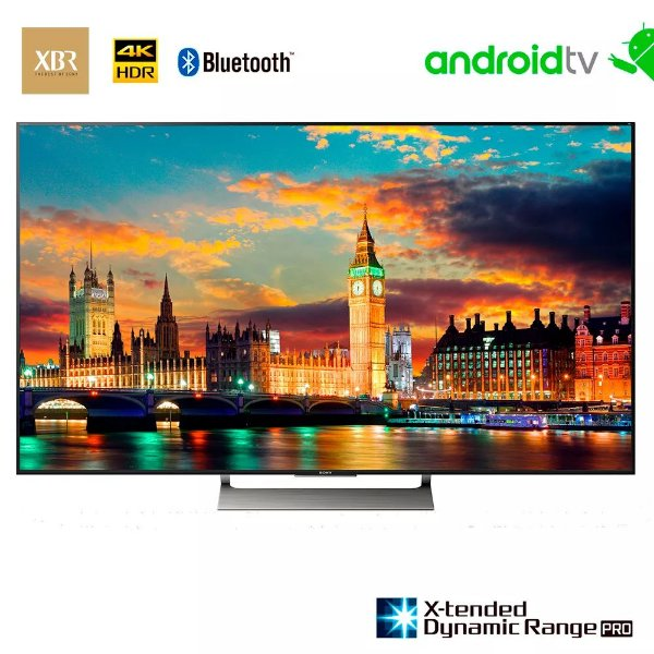 "Sony XBR LED 4K Ultra HD High Dynamic Range HDR Smart TV 65"" Android X905E"