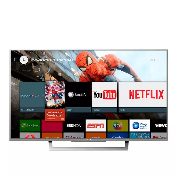 "Sony XBR LED 4K Ultra HD High Dynamic Range HDR Smart TV 49"" Android - 49X835D"