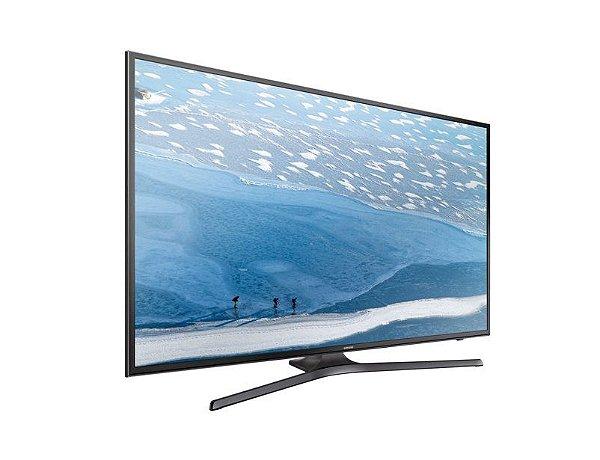 "Samsung Smart TV  55"" UHD 4K Flat KU6000 Series 6 - UN55KU6000GXZD"