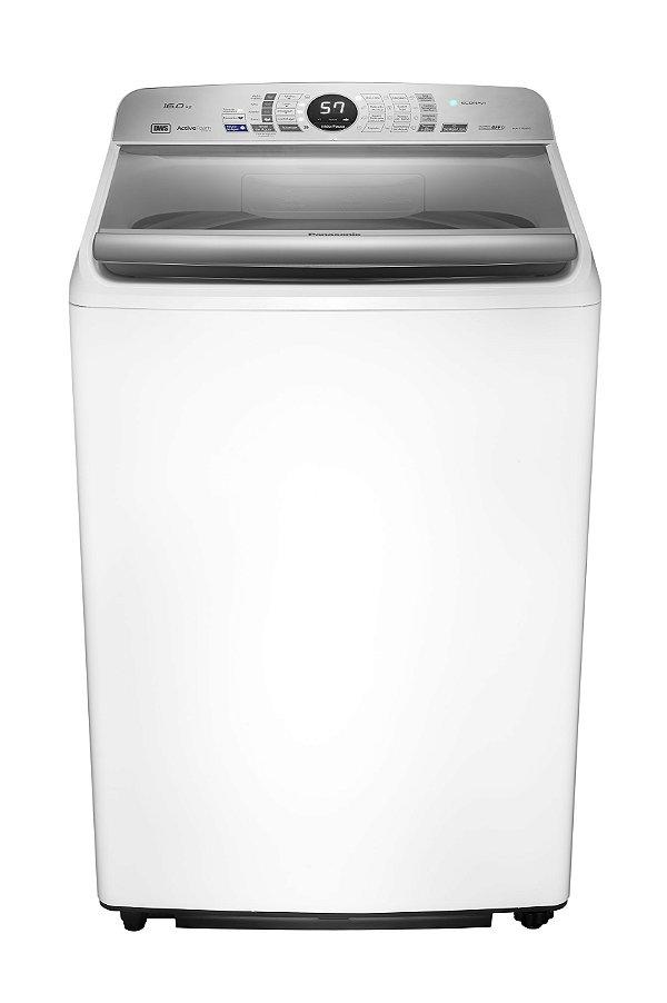 Lavadora de Roupas 16kg Branca com 9 Prog de Lavagem, Econavi e Espuma Ativa - NA-F160P5W - 127v