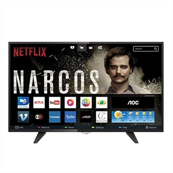 Smart TV HD AOC LED 32 polegadas LE32S5970