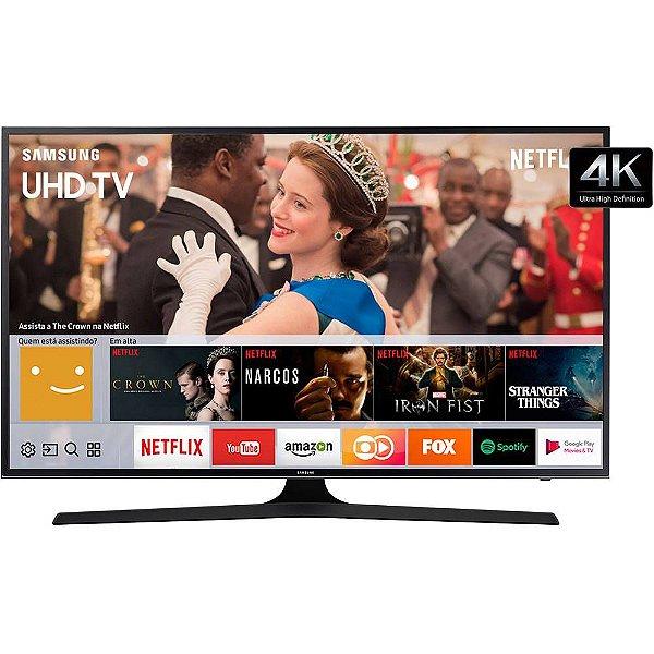 "Smart TV LED 50"" 50mu6100 Hdr Premium, Smart Tizen Ultra HD 4K Conversor Digital Wi-Fi 3 HDMI 2 USB"
