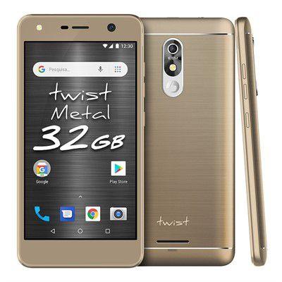 Smartphone Twist Metal S531 32GB - Dourado