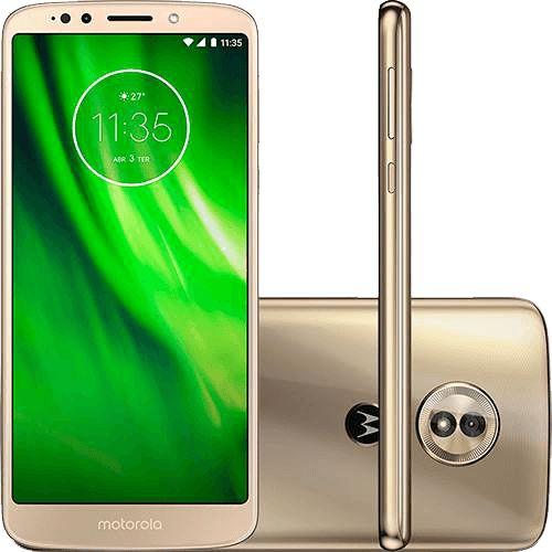 Smartphone Motorola Moto G6 Play XT1922 Dual,32GB Câmera 13MP-Dourado