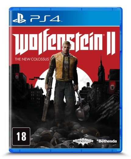 Game - Wolfenstein II - The New Colossus - PS4