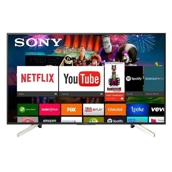 "Smart TV LED 65"" Sony 4K KD-65X755F 4 HDMI"