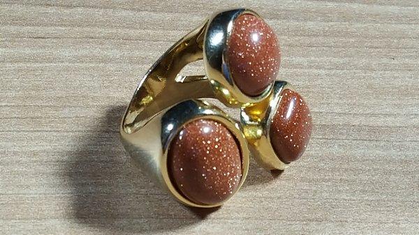 Anel de Pedra do Sol Maxi Flex Amazon