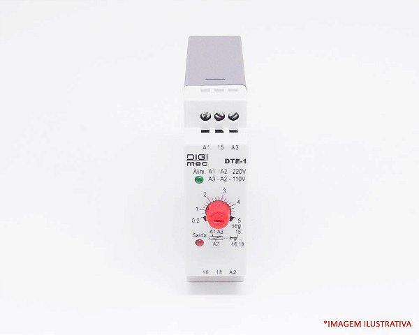 Temporizador com retardo na energização - DTE-1