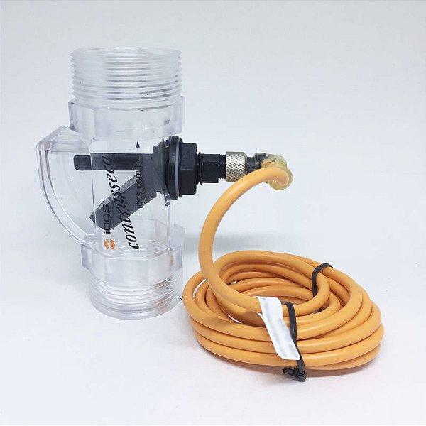Sensor de fluxo Contrasseco COM conector