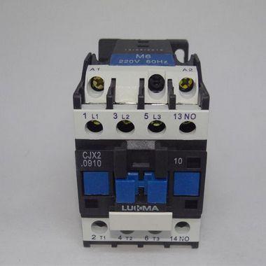 Contator tripolar CJX2-0910, 220Vca