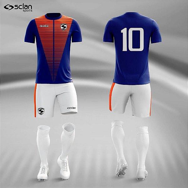 Jogo Camisa Futebol Ouro ss72